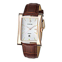 Men's Casual Watch Fashion Watch Dress Watch Quartz Calendar Leather Band Casual Cool