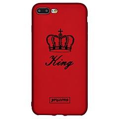Кейс для Назначение Apple iPhone 8 iPhone 8 Plus С узором Задняя крышка Слова / выражения Мягкий TPU для iPhone X iPhone 8 Plus iPhone 8