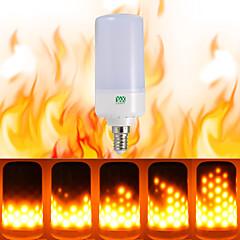 billige LED lyspærer-ywxlight® 1pcs e26 e14 b22 ledet flimmer flammeffekt ledet brandpære brand brændende ac 85-265v