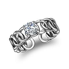 Жен. манжета кольцо Винтаж Мода Циркон Геометрической формы Бижутерия Назначение Другое Повседневные