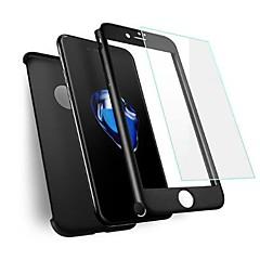 abordables Novedades-Protector de pantalla Apple para iPhone 8 Vidrio Templado 1 pieza Protector de Pantalla Ultra Delgado A prueba de explosión Dureza 9H