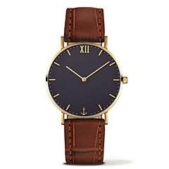 お買い得  大特価腕時計-男性用 / 女性用 中国 クロノグラフ付き 合金 バンド ブラック / ブラウン / グレー