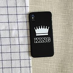 Недорогие Кейсы для iPhone X-Кейс для Назначение Apple / iPhone X iPhone X / iPhone 8 / iPhone 8 Plus Защита от удара Чехол Композиция с логотипом Apple Мягкий ПК для iPhone X / iPhone 8 Pluss / iPhone 8