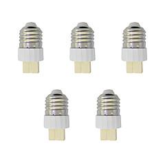 billige LED-tilbehør-5 stk E27 til G9 G9 Lysstik Simple