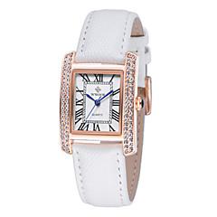 preiswerte Tolle Angebote auf Uhren-Damen Armbanduhr Echtes Leder Band Freizeit / Modisch / Elegant