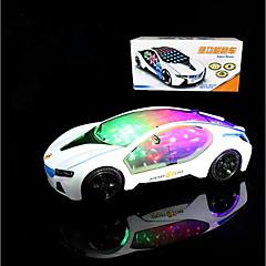 voordelige Oplichtend speelgoed-LED-verlichting Racewagen Speeltjes Anderen Vakantie Klassiek Thema Voertuigen Verjaardag Valaistus Gemotoriseerd Electrisch Nieuw Design