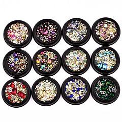 billige Krystal rhinsten-Neglekunst Dekoration Smykker Charms