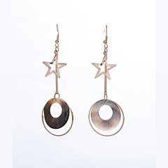 cheap Earrings-Women's Drop Earrings Basic Bonded Alloy Circle Jewelry For Party Ceremony