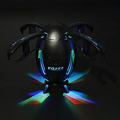 billiga Quadcopter-RC Drönare FQ777 FQ28 4 Kanaler 6 Axel 2.4G WIFI Med 720P HD-kamera Radiostyrd quadcopter WIFI FPV LED-belysning Retur Med Enkel