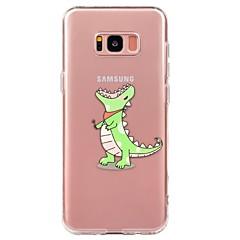 hoesje Voor Samsung Galaxy S8 Plus S8 S7 Ultradun Transparant Patroon Achterkantje dier Zacht TPU voor S8 Plus S8 S7 edge S7 S6 edge plus