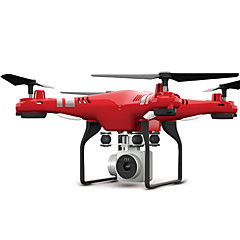 voordelige quadcopter-RC Drone FLYRC X52 4-kanaals 6 AS 2.4G Met HD-camera 0.3MP 640P*480P RC quadcopter WIFI FPV Hoogte Holding LED verlichting Terugkeer Via