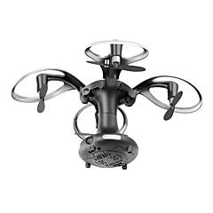 Drón 415B 4 Csatorna A 0.3MP HD kamera Egygombos Visszaállítás Lebeg Kamerával RC Quadcopter Távirányító Fényképezőgép USB kábel