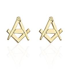 povoljno Manžete-Alphabet Shape Zlatan Mandzsettagombok Kamen Za opuštanje Voljeni Muškarci Nakit odjeće