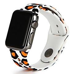 olcso Apple Watch sávok-Nézd Band mert Apple Watch Series 3 / 2 / 1 Apple Sportszíj Szilikon Csuklópánt