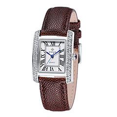 preiswerte Damenuhren-Damen Armbanduhr Echtes Leder Band Freizeit / Modisch / Elegant