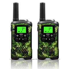 お買い得  トランシーバー-48 462 トランシーバー ハンドヘルド 電池残量不足通知 節電モード VOX 暗号化 CTCSS/CDCSS 自動応答 キーロック バックライト LCD スキャン 監視 5KM-10KM 5KM-10KM 22 0.5 トランシーバー 双方向ラジオ