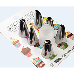Moldes para pasteles Forma de Tubo Pastel para el pan para la torta Acero Inoxidable + ABS de Grado A Manualidades Antiadherente