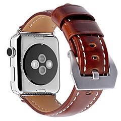 Недорогие Аксессуары Apple Watch-часовая группа для серии часов для яблока 3/2/1 яблочный браслет из натуральной кожи