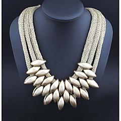 preiswerte Halsketten-Damen Statement Ketten - Harz Erklärung Schwarz, Silber, Regenbogen Modische Halsketten Schmuck 1 Für Normal, Verabredung