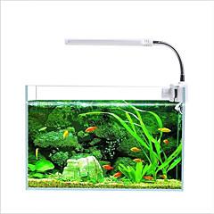 voordelige Aquarium Verlichting-Aquaria Aquarium Decoratie LED-licht Meerkleurig 360 Rotating LED-lamp 110V-220VV