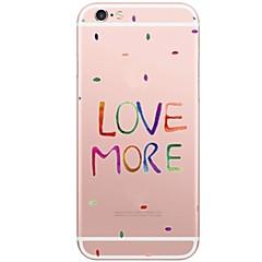 Недорогие Кейсы для iPhone X-Кейс для Назначение Apple iPhone X iPhone 8 Plus С узором Кейс на заднюю панель С сердцем Мягкий ТПУ для iPhone X iPhone 8 Pluss iPhone 8