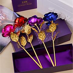 Недорогие Женские украшения-Искусственные Цветы 1 Филиал Modern Розы Букеты на стол