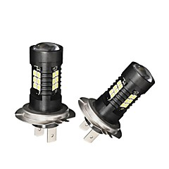 voordelige -2 stks camry koplamp bulb 21 w h7 led lamp ultra helderheid koplamp lamp voor 100% automodellen fittable