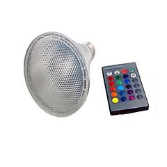 abordables Bombillas LED-1pc 10 W 680 lm E26 / E27 Growing Light Bulb 1 Cuentas LED LED Integrado Control Remoto / Decorativa / Gradiente de Color RGB 85-265 V / Cañas