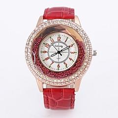 preiswerte Damenuhren-Damen / Paar Armbanduhr Chinesisch Armbanduhren für den Alltag / Cool Legierung Band Blume / Freizeit / Modisch Schwarz / Weiß / Rot