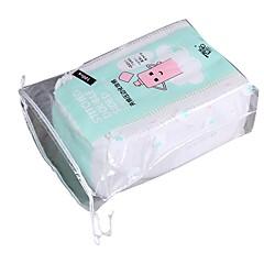 お買い得  化粧品の綿-100 個 コットンパッド 四辺形 女性