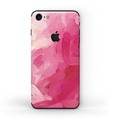 tanie Naklejki na iPhona-1 szt. Naklejka na obudowę na Odporne na zadrapania Matowe Wzorki PVC iPhone 7