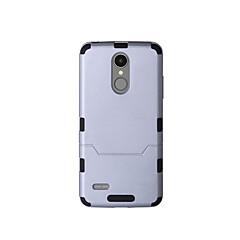 voordelige Hoesjes / covers voor LG-hoesje Voor LG LG K10 K8 (2017) K10 (2017) Schokbestendig Volledig hoesje Effen Kleur Hard TPU voor LG K10 (2017) LG K8 (2017)