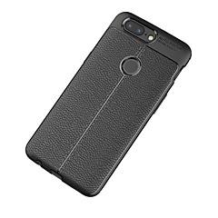 billige Andre etuier-Etui Til OnePlus One Plus 3 5 Syrematteret Præget Bagcover Helfarve Blødt TPU for One Plus 5 OnePlus 5T One Plus 3 One Plus 3T OnePlus