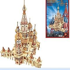 voordelige -Houten puzzels Modelbouwsets Hout Model Huis Maskerade Verjaardag Valentijnsdag Mode Hoge kwaliteit Russisch 5 tot 7 jaar 8 tot 13 jaar