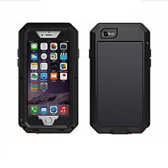 Недорогие Кейсы для iPhone 6 Plus-Кейс для Назначение Apple iPhone 6 iPhone 6 Plus Вода / Грязь / Надежная защита от повреждений Задняя крышка Сплошной цвет Мягкий Силикон