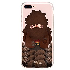 Custodia Per Apple iPhone X iPhone 8 Plus Fantasia/disegno Custodia posteriore Cartoni animati Morbido TPU per iPhone X iPhone 8 Plus