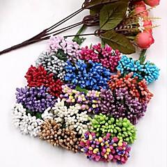Недорогие Женские украшения-Искусственные Цветы 12 Филиал Свадьба Pастений Букеты на стол