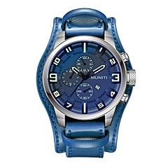 preiswerte Tolle Angebote auf Uhren-Herrn Quartz Armbanduhr Chinesisch Kalender / Großes Ziffernblatt / Cool / Armbanduhren für den Alltag Leder Band Freizeit / Modisch