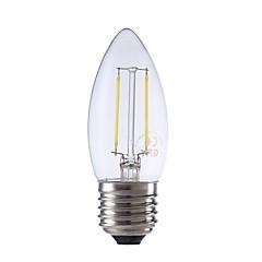 preiswerte LED-Birnen-GMY® 1pc 2W 250/200lm E27 LED Glühlampen C35 2 LED-Perlen COB Dekorativ LED-Lampe Warmes Weiß Kühles Weiß 220-240V
