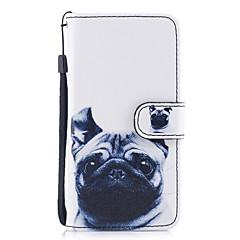 economico Custodie per iPhone 5S / SE-Custodia Per Apple iPhone X iPhone 8 Plus Porta-carte di credito A portafoglio Con supporto Con chiusura magnetica Fantasia/disegno