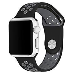 Klockarmband för Apple Watch Series 3 / 2 / 1 Apple Handledsrem Sportband Silikon
