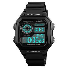 preiswerte Tolle Angebote auf Uhren-SKMEI Herrn digital Digitaluhr Armbanduhr Sportuhr Japanisch Alarm Kalender Chronograph Wasserdicht Nachts leuchtend Stopuhr Duale