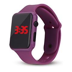 preiswerte Tolle Angebote auf Uhren-Damen Digitaluhr Digital Chronograph Armbanduhren für den Alltag Cool Silikon Band digital Freizeit Modisch Minimalistisch Schwarz / Weiß / Blau - Rot Grün Blau