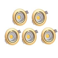 5pcs 7W 700lm LED LED mélysugárzók Meleg fehér Hideg fehér AC 220-240V