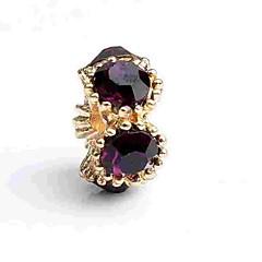 cheap Beads & Jewelry Making-DIY Jewelry 1 pcs Beads Crystal Alloy Gold Irregular Bead 0.5 cm DIY Necklace Bracelet