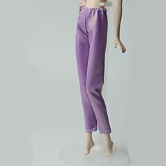 abordables Ropa para Barbies-Pantalones Pantalones, Pantalonetas y Licras por Muñeca Barbie  Morado Pantalones por Chica de muñeca de juguete