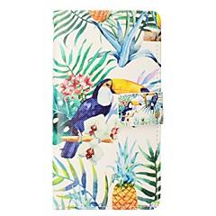 Недорогие Кейсы для iPhone 6 Plus-Кейс для Назначение Apple iPhone X iPhone 8 Plus Бумажник для карт Кошелек со стендом Флип Магнитный Чехол Животное Твердый Кожа PU для