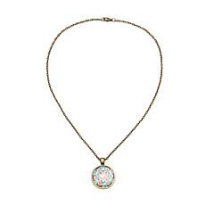 preiswerte Halsketten-Damen Anhängerketten - Blume Asiatisch, Retro Bronze Modische Halsketten Schmuck Für Party, Festival
