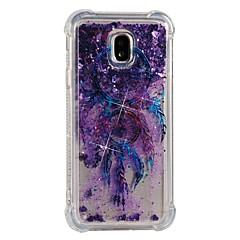 halpa Muut Samsung kotelot / kuoret-Etui Käyttötarkoitus Samsung Galaxy J7 (2017) J5 (2017) Iskunkestävä Virtaava neste Kuvio Takakuori Uni sieppari Pehmeä TPU varten J7
