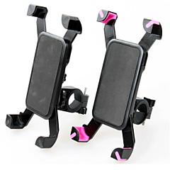 olcso Tartók-Kerékpár Mobiltelefon hegyén-tartóval Állítható állvány Mobiltelefon Csatoló típus ABS Tartó